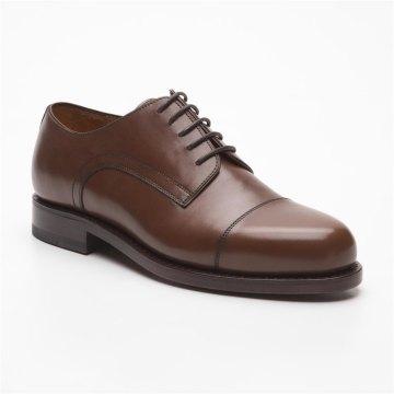 Prime Shoes Chicago Box Calf Cuoio Rahmengenäht edler Schnürschuh aus feinstem Kalbsleder