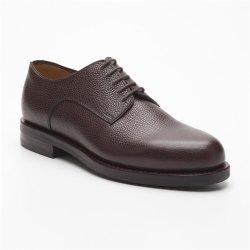 Prime Shoes Graz Braun Scotchgrain Testa di Moro...