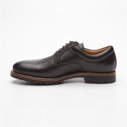 Prime Shoes Moskau Braun Buffalo Testa di Moro Plain Derby Rahmengenäht edler klassischer Schnürschuh feinstes Kalbsleder