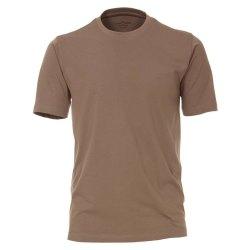 Casamoda T-Shirt Beige Kurzarm Normal Geschnitten...