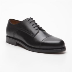 Prime Shoes Chicago Schwarz Box Calf Black Rahmengenäht...