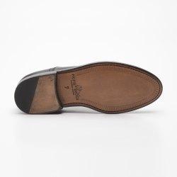 Prime Shoes Chicago Schwarz Box Calf Black Rahmengenäht edler Schnürschuh aus feinstem Kalbsleder