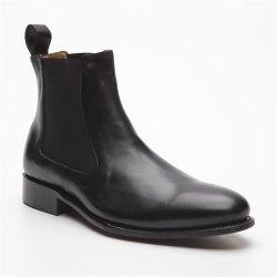 Prime Shoes Diego Rahmengenäht Schwarz Stiefelette...