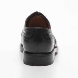 Prime Shoes Linz Rahmengenäht Schwarz Box Calf Black Budapester Schnürschuh aus feinstem Kalbsleder