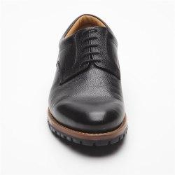 Prime Shoes Moskau Schwarz Buffalo black Rahmengenäht Plain Derby edler klassischer Schnürschuh feinstes Kalbsleder