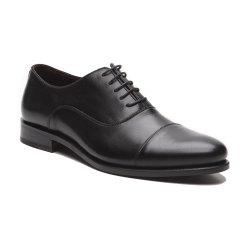 Prime Shoes New York Rahmengenäht Schwarz Box Calf Black Schnürschuh aus feinstem Kalbsleder