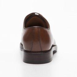 Prime Shoes Prag Rahmengenäht Box Calf Cuoio Schnürschuh aus feinstem Kalbsleder