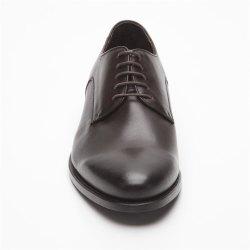 Prime Shoes Roma Rahmengenäht Dunkelbraun Box Calf Espresso Schnürschuh aus feinstem Kalbsleder