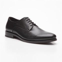 Prime Shoes Roma Rahmengenäht Schwarz Box Calf Black Schnürschuh aus feinstem Kalbsleder
