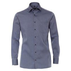 Casamoda Hemd Blau Langarm Comfort Fit Bequeme weite...