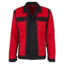 beb Premium Herren Bundjacke Rot Schwarz 65 % Polyester...