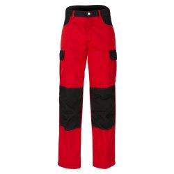 beb Premium Herren Bundhose Rot Schwarz 65 % Polyester 35...