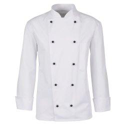 beb Herren Kochjacke für Kugelknöpfe Weiß...