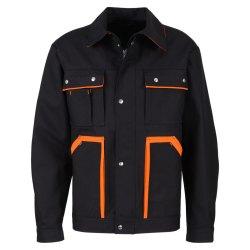 beb Premium Herren Bundjacke Schwarz Orange 60 %...