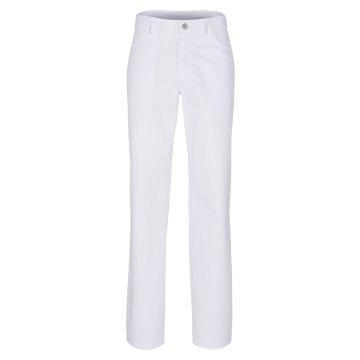 Größe 58 beb Herren Bundhose Jeansform Weiß 64 % Polyester 34 % Baumwolle 2 % Elastolefin