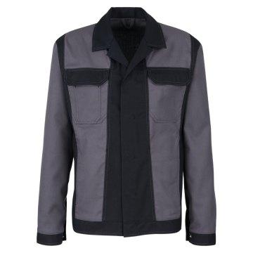 Größe 114 beb Premium Herren Bundjacke Grau Schwarz 60 % Baumwolle 40 % Polyester