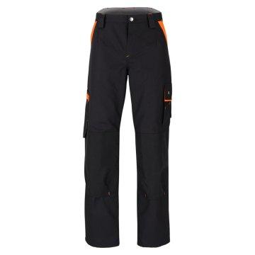 Größe 44 beb Premium Herren Bundhose Schwarz Orange 60 % Baumwolle 40 % Polyester