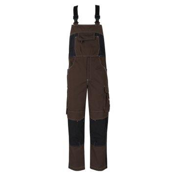 Größe 90 beb Inflame Herren Latzhose Chocolate Brown Braun Schwarz 65 % Polyester 35 % Baumwolle