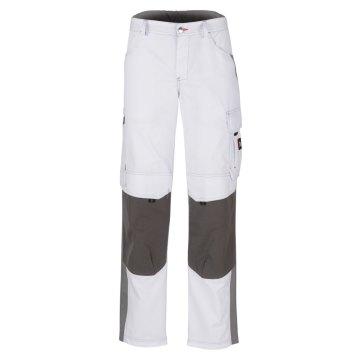 Größe 60 beb Inflame Bundhose Weiß Grau 65 % Polyester 35 % Baumwolle für Damen und Herren
