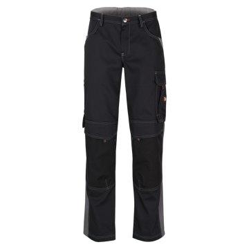 Größe 102 beb Inflame Bundhose Schwarz Dunkelgrau 65 % Polyester 35 % Baumwolle für Damen und Herren