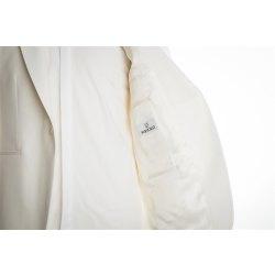 Größe 46 WILVORST Dinnerjacket Schalkragen Cremeweiß Neue Form Slim Line