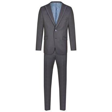 Atelier Torino Gala Anzug Ezzo Caio Modern Fit Blau Viskose Schurwolle Seide Gemisch Festanzug 891775/30