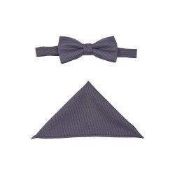 Atelier Torino Gala Schleife mit Tuch Blau strukturiert...