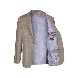 Größe 54 Atelier Torino Vintage Wedding Sakko Tizian Modern Fit Braun Schurwolle Hochzeitsanzug 881971/60