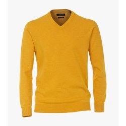 Casamoda Sport Pullover Senfgelb Langarm Normal...
