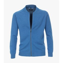 Casamoda Strickjacke Cardigan Hellblau Langarm Normal...