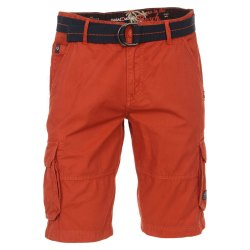 Casamoda Shorts Cargo-Bermuda Orange 100% Baumwolle