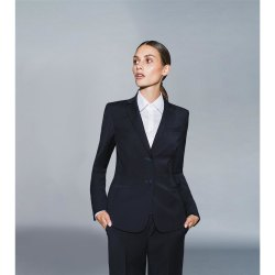 DANIEL HECHTER Damen Blazer Tailored Modern Fit Marine Modell 30920 Corporate Fashion