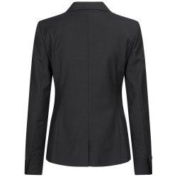 DANIEL HECHTER Damen Blazer Tailored Modern Fit Schwarz...