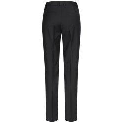 DANIEL HECHTER Damen Hose Tailored Modern Fit Schwarz...