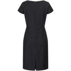 DANIEL HECHTER Damen Kleid Tailored Modern Fit Schwarz...