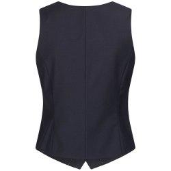 DANIEL HECHTER Damen Weste Tailored Modern Fit Marine...