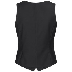 DANIEL HECHTER Damen Weste Tailored Modern Fit Schwarz...