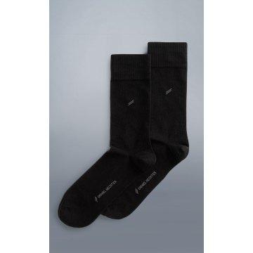 DANIEL HECHTER City Socken Doppelpack Schwarz 80% Baumwolle 17% Polyamid 3% Elasthan