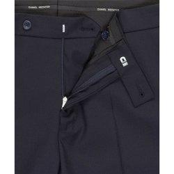 DANIEL HECHTER Herren Hose Tailored Modern Fit Marine...