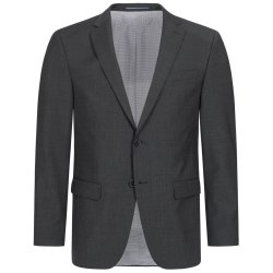 DANIEL HECHTER Herren Sakko Tailored Modern Fit Anthrazit...