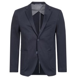 DANIEL HECHTER Herren Jersey Sakko Casual Modern Fit Blau...