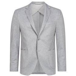 DANIEL HECHTER Herren Jersey Sakko Casual Modern Fit Grau...