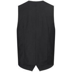 DANIEL HECHTER Herren Weste Tailored Modern Fit Schwarz...