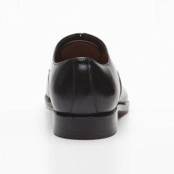 Größe D 41 UK 7 Prime Shoes Basel Rahmengenäht Black Hi-Shine Schnürschuh aus feinstem Kalbsleder