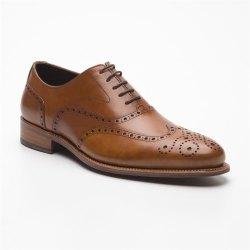 Größe D 42 UK 8 Prime Shoes Oxford Full Brogue...