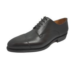 Prime Shoes Bergamo 3 Schwarz Box Calf Black Schnürschuh...